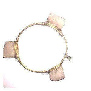 Light pink stone blwtie Bracelet